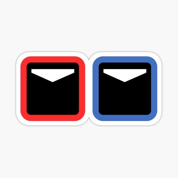 Beat Saber Simple Cubes Sticker