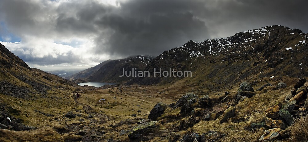 Coniston valley by Julian Holtom