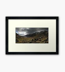 Coniston valley Framed Print