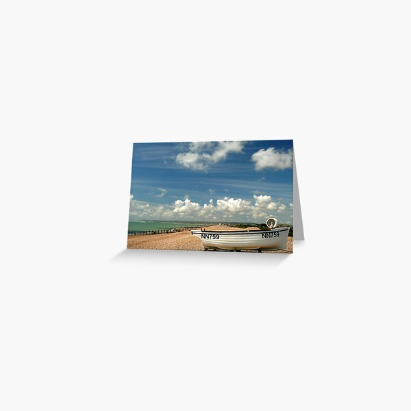 A great day for a landing Greeting Card