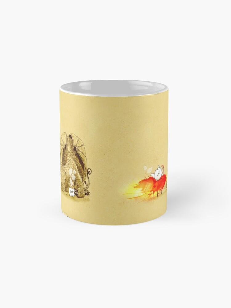 Alternative Ansicht von Drache macht Tee Tassen