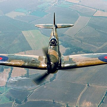 BBMF Spitfire IIa P7350 over South Lincolnshire by oscar533