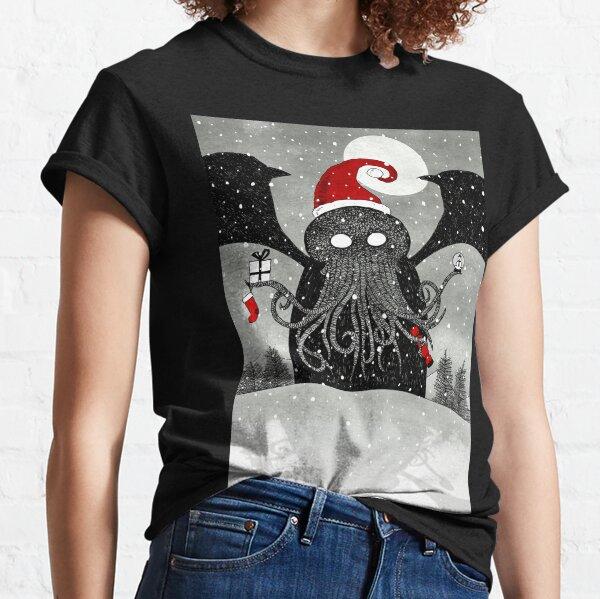 A Cthulhu Christmas Classic T-Shirt