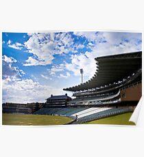 Wanderers Cricket Stadium Poster