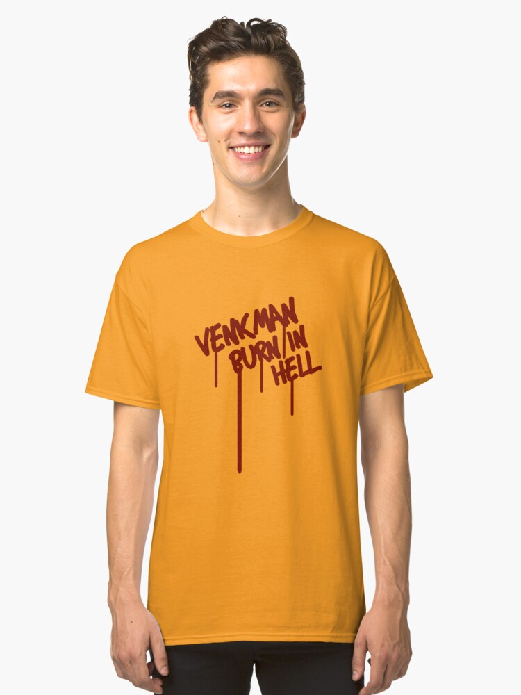 Alternate view of Venkman Burn in Hell Classic T-Shirt