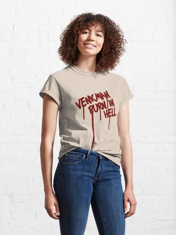 Alternate view of Venkman Burn in Hell Classic T-Shirt