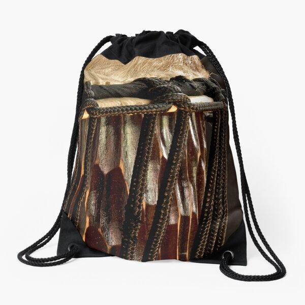 Djembe Drum Drawstring Bag
