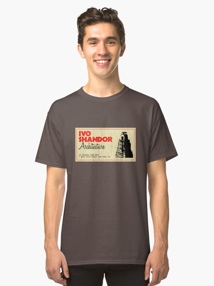 Alternate view of Ivo Shandor Architecture Classic T-Shirt