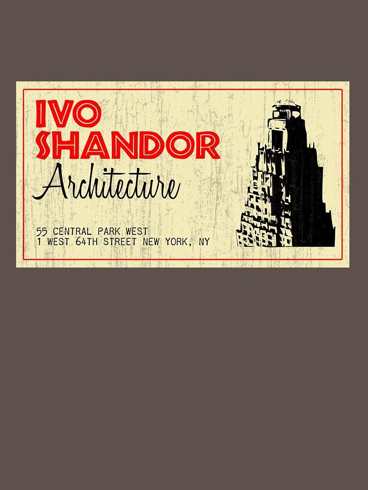Ivo Shandor Architecture by brianftang