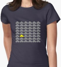 You're Always Playing Yellow Car... Women's Fitted T-Shirt