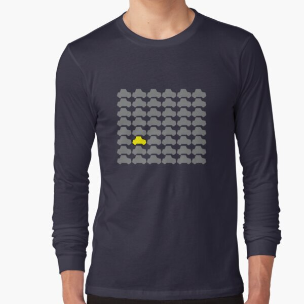 You're Always Playing Yellow Car... Long Sleeve T-Shirt