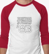 Toxteth O'Grady, official record attempt 1983 Men's Baseball ¾ T-Shirt