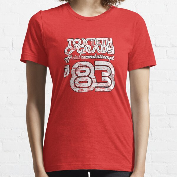Toxteth O'Grady, official record attempt 1983 Essential T-Shirt