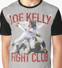 Vintage Joe Kelly Fight Boston Baseball Club T-Shirt Graphic T-Shirt