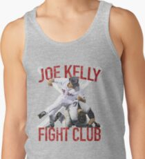 Vintages Joe Kelly-Kampf-Boston-Baseball-Verein-T-Shirt Tanktop für Männer