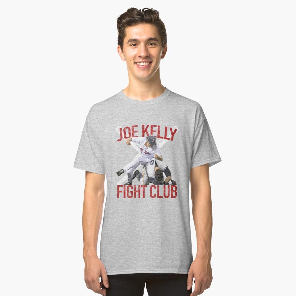 Vintage Joe Kelly Fight Boston Baseball Club T-Shirt Classic T-Shirt Front