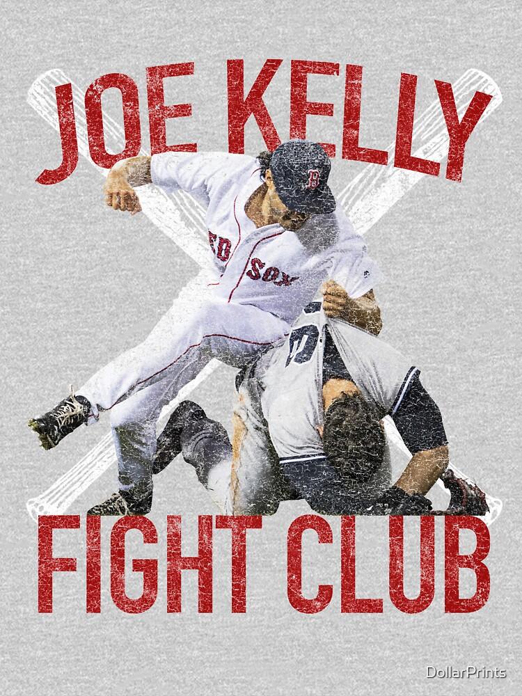 Vintage Joe Kelly Fight Boston Baseball Club T-Shirt by DollarPrints