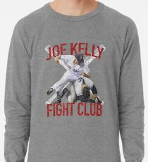 Vintages Joe Kelly-Kampf-Boston-Baseball-Verein-T-Shirt Leichtes Sweatshirt