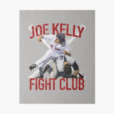 Vintage Joe Kelly Fight Boston Baseball Club T-Shirt Art Board Print