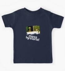 Dogs and cats living together. Mass hysteria! Kids Tee
