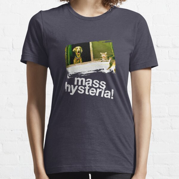 Dogs and cats living together. Mass hysteria! Essential T-Shirt