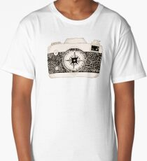 Travel Camera Long T-Shirt