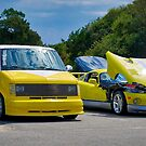 Double Yellow by TJ Baccari Photography