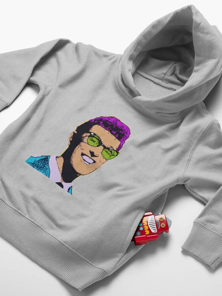 Alternate view of Buddy HOLLY Toddler Pullover Hoodie