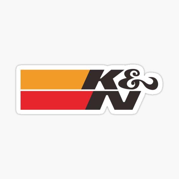 K y N Pegatina