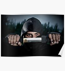 Ninja sword Poster