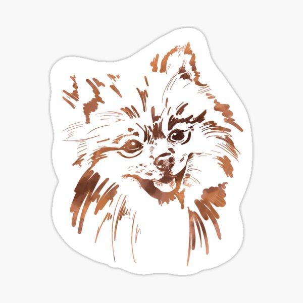Watercolor Pom - Pomeranian Dog Sticker