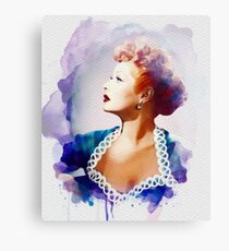 Lucille Ball, Vintage Hollywood Legend Canvas Print