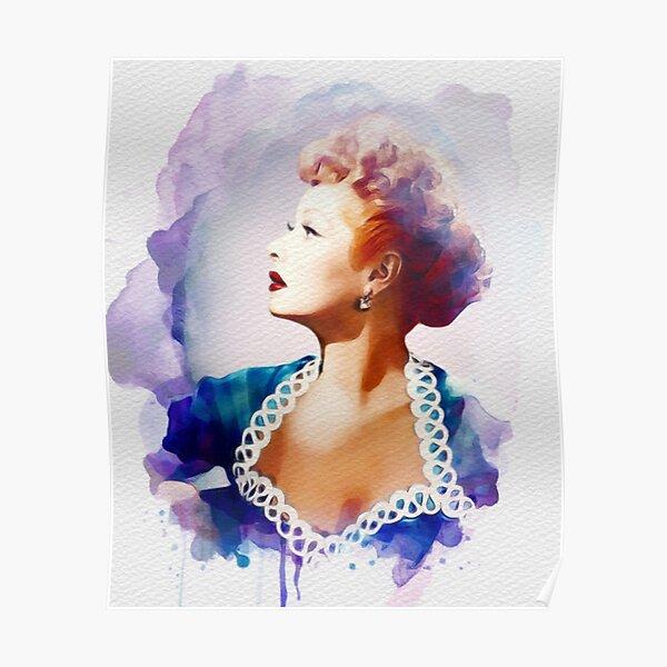Lucille Ball, Vintage Hollywood Legend Poster
