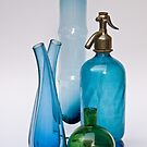 Still Life With Coloured Glass by Ilva Beretta