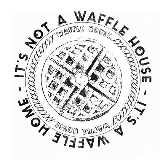 Waffle House Waffle Home by confettidesign