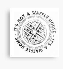 Waffle House Waffle Home Metal Print