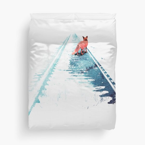 From nowhere to nowhere Duvet Cover