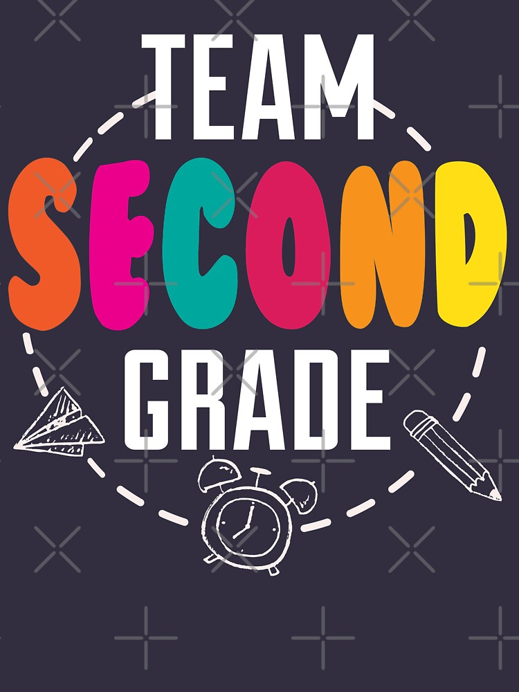 Second grade shirt back to school tee by niftee