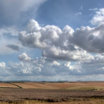Lincolnshire Wolds Panoramic by tommysphotos