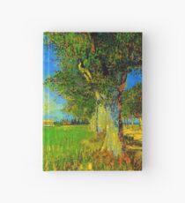 Farmhouse in a Wheat Field van Gogh 1888, Fine Art, Hardcover Journal
