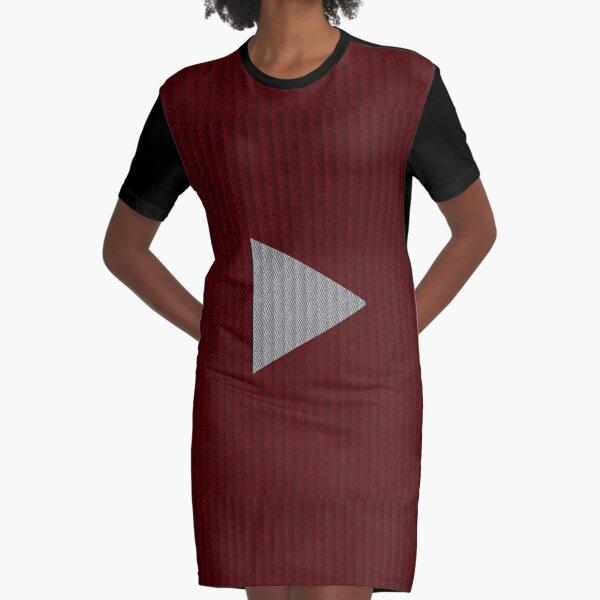 Play Me Graphic T-Shirt Dress