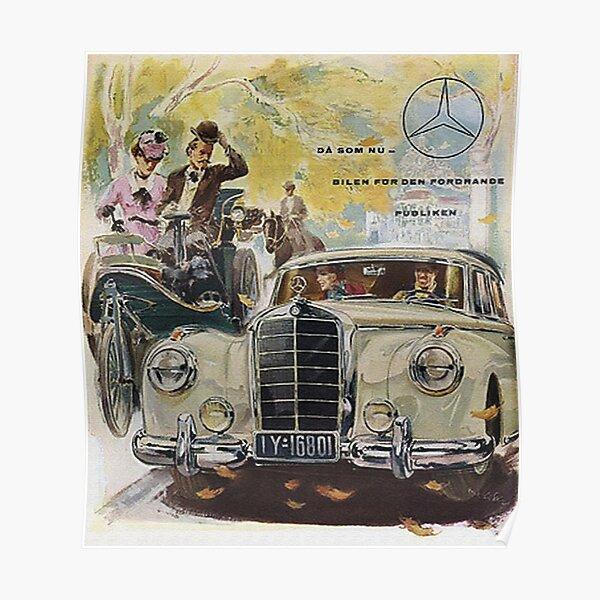 Fabulous Fifties...Automobile Advertisement Poster