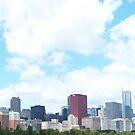 Chicago Skyline by BlackHairMoe