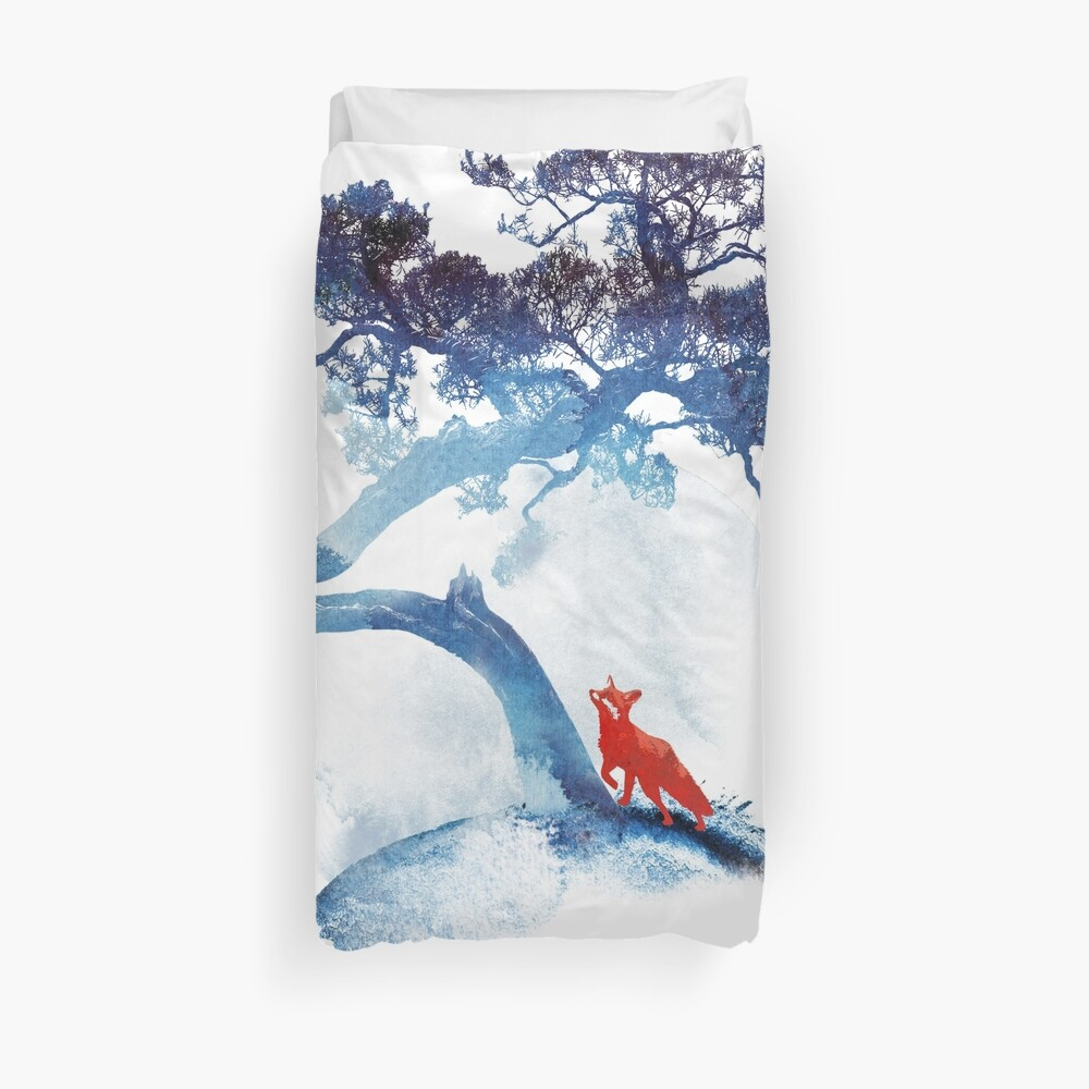 The last apple tree Duvet Cover