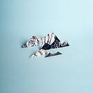 Paper mountains by TheOtherErre