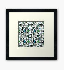 Ethnic Feathers Framed Print