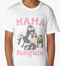 Mama Penguin Long T-Shirt