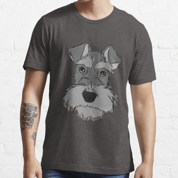 Entzückender Zwergschnauzer Essential T-Shirt