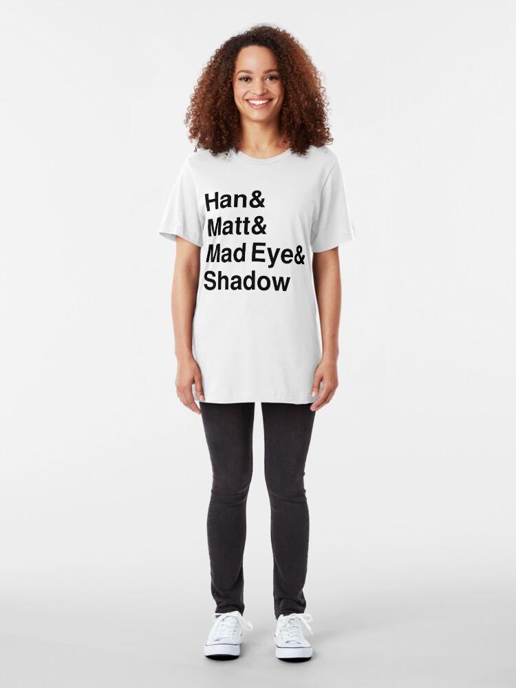 Alternate view of Han & Matt & Mad Eye & Shadow Slim Fit T-Shirt