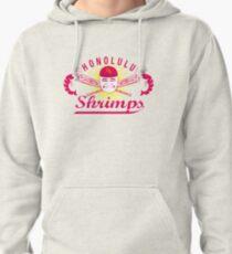 Honolulu Shrimps Baseball Team Logo Pullover Hoodie